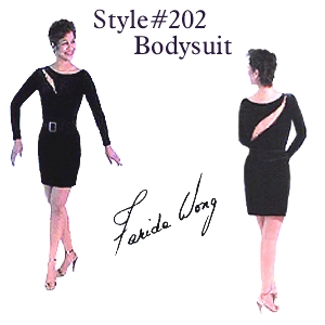 Farida Wong Dancewear – Bodysuit 202