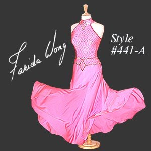 Farida Wong Dancewear � Ballroom Dance Dress 441-A