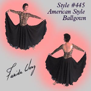 Farida Wong Dancewear – Ballroom Dance Dress 445-A