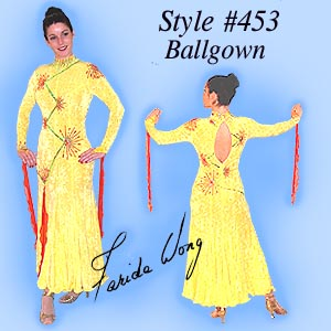 Farida Wong Dancewear � Ballroom Dance Dress 453