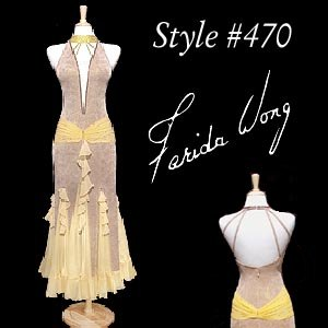 Farida Wong Dancewear – Ballroom Dance Dress 470