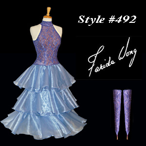 Farida Wong Dancewear � Ballroom Dance Dress 492