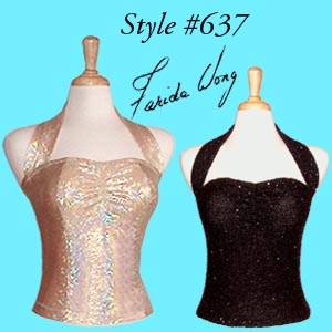 Farida Wong Dancewear � Blouse Top 637