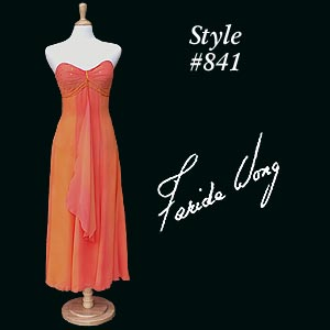 Farida Wong Dancewear – Evening Wear 841