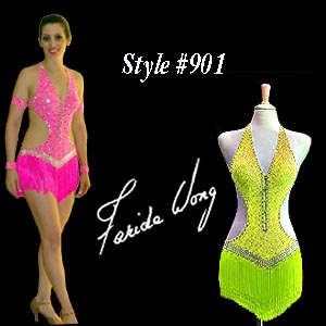 Farida Wong Dancewear � Latin Dance Costume 901