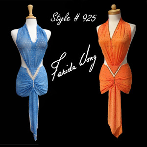Farida Wong Dancewear – Latin Dance Costume 925