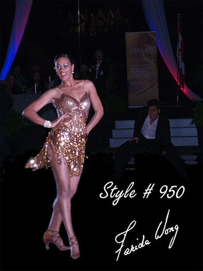 Farida Wong Dancewear – Latin Dance Costume 950
