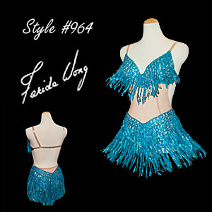 Farida Wong Dancewear � Latin Dance Costume 964