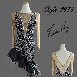 Farida Wong Dancewear – Latin Dance Costume 979