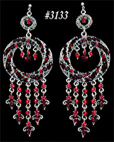 Farida Wong Dancewear – Accent Earrings