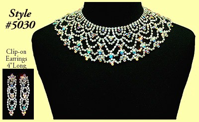 Farida Wong Dancewear � Accent Necklace